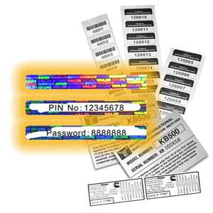 Promotion / Lottery Labels